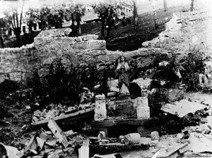 Скульптурне зображення не постраждало від фашистської бомби