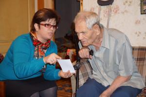 журналіст Інна Гончар уперше розповідає подружжю Моргуненків про віднайдену родину з Америки,
