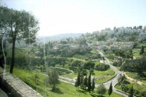 Оливкова гора. Місце Вознесіння Ісуса Христа.