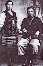 Ганна Козар і Богдан Гева