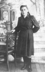 Заяць-Мерещак Ольга_Рогачин_табір,1955