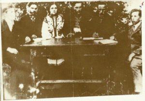 Рідкісна фотографія засідання Ради Референтів Крайової Екзекутиви ОУН за 1929 р.