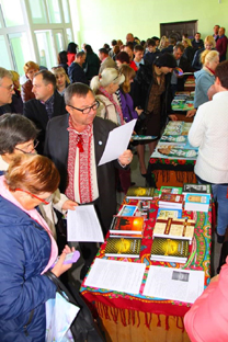 Під час виставки-ярмарку книжок