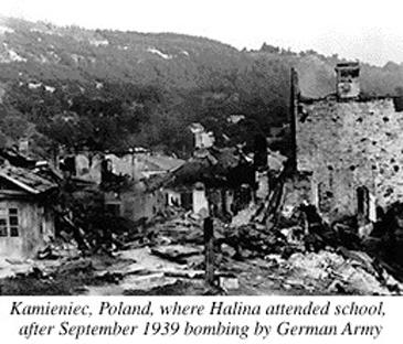 Зруйновані німецьким бомбардуванням Кременця будинки. 12 вересня 1939 р. www2.humboldt.edu/rescuers/book/Makuch/halina/HStory1.html