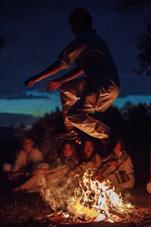 Фото з особистого архіву Наталії Унгурян-Топало, купальські святкування у селі Черепківці Глибоцького району