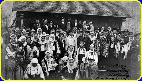 Українське весілля в еміграції. Канада, 1917
