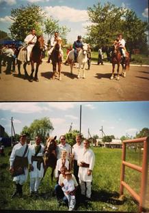 Фото зі святкування 100-літнього ювілею «Січі» в селі Завалля Снятинського району. Фото надала краєзнавиця Марія Храпко
