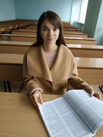 Полиняк Марія вперше розгорнула часопис із своєю публікацією