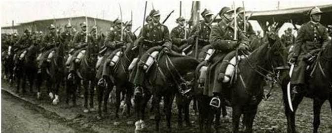 Ескадрон польської кавалерії. 1939 р. [12].