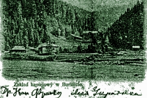 Буркутський курорт 1901р.