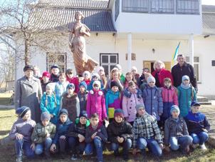 Учні Стопчатівського ліцею на Марійчиних читаннях в Білих Ославах