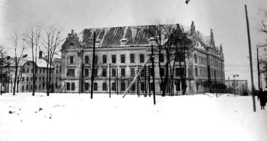 вигляд окружного суду у першій половині ХХ ст.