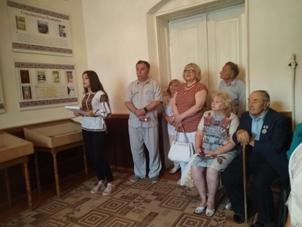 У музеї Ігоря Пелипейка (крайній справа — Володимир Тутуруш)