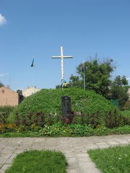 Братська могила в Глинянах